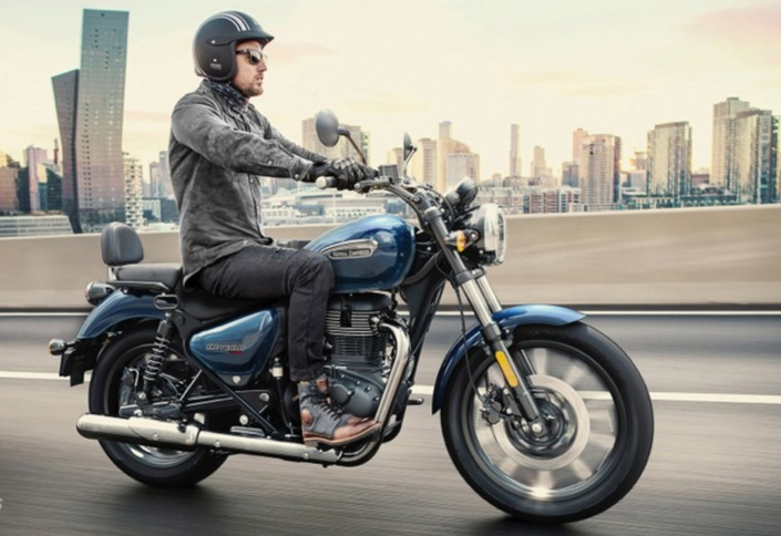 Royal Enfield Meteor 350 : elle arrive en Europe !